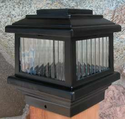 "Polaris Solar Deck Light - Solar Post Cap for 3.5"" Posts"