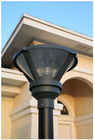 Premium Modern Solar Post Light For 3 Inch Poles And Posts