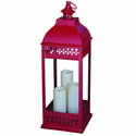 San Nicola Triple LED Candle Lantern