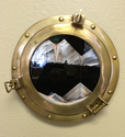 Sand Art - Ship Porthole Decor - Moving Sand Art Picture