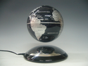 "Silver 6"" Anti-Gravity Levitating Globe by LeviTECH"