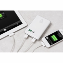 White Snow Lizard SLPower Charger - 11000 mAh, Portable charger for iPhones and USB Powered Devices