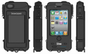 SLXtreme 4 - iPhone 4 & iPhone 4s Solar Case Charger - Waterproof and Rugged
