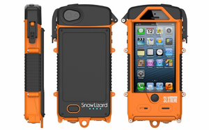Snow Lizard SLXtreme 5 - Waterproof iPhone 5 and iPhone 5S Solar Case Charger