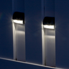 Smart Solar 4-Pack Wall Light for Walkways, Paths and other Outdoor Areas