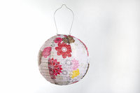 Soji LED Solar Lantern - Floral Bloom  - 2012 Limited Edition