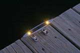 Solar Dock Lights, Cleats, Piling Lights & Dock Dots