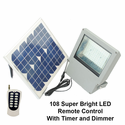 SGG-F108-2T - 108 SMD LED Solar Flood Light With Remote Control