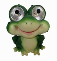 Solar Garden Pals Frog Set of 2, Decorative Solar Light for Outdoor Areas
