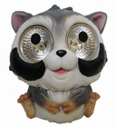 Solar Garden Pals Raccoon Set of 2, Solar decor for areas outside your home