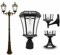 Solar Lamp Post Lights, Deck & Wall Lights