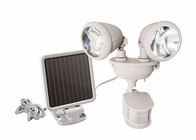 Solar LED Dual Security Motion Sensor Spotlight for Outdoor Areas