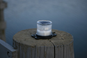 Solar Marine Light for Pilings & Docks - Constant or Flashing Light
