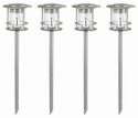 Solar Modern Path Light - 4 Pack