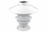 Solar Pagoda Piling Light for Docks, Marinas, Bridges and Yacht Clubs