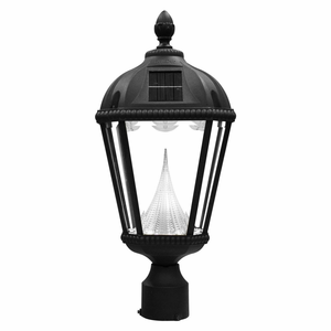 solar powered lamp post light replacement this baytown solar lamp post. Black Bedroom Furniture Sets. Home Design Ideas