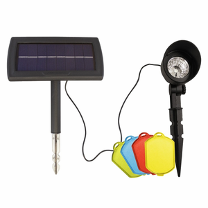 Solar Spot Light with Color Lenses
