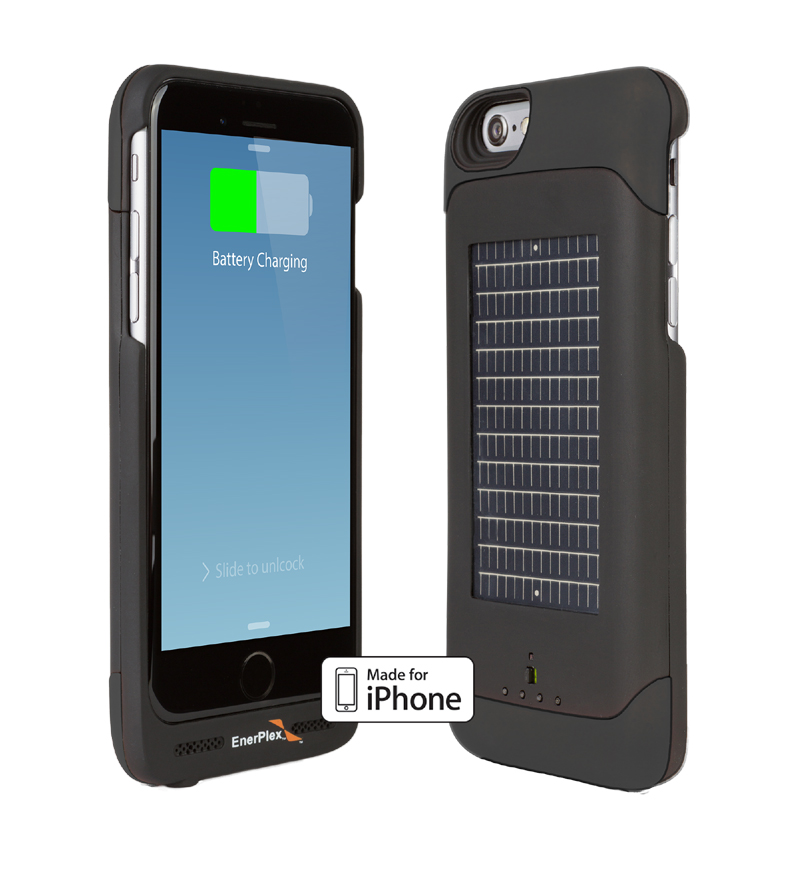 Solar iPhone Charger Case for iPhone 6 and 6S