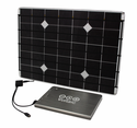 Voltaic DIY Solar Charger Kit for Laptops & Tablets - 17 Watt Solar Panel with V72 Universal Laptop Battery