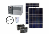 Earthtech Products 1800 Watt Solar Generator Kit with 2 Solar Panels for Homes, Cabins and Apartments