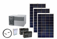 Xantrex PowerHub 1800 Watt Solar Generator Kit with 3 Solar Panels for Homes, Cabins and Apartments