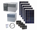 Ultimate Xantrex PowerHub 1800 Watt Generator Kit with 5 Solar Panels for Homes, Cabins and Remote Locations