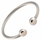All Stainless Steel Cable Magnetic Therapy Bracelet