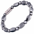 Hematite Magnetic Therapy Bracelet Twister