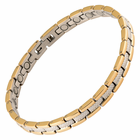 Magnetic Therapy Bracelet Stainless Steel 2 Tone Verona