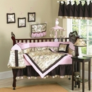 Abby Rose Asian Baby Bedding - 9 Piece Crib Set