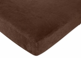 All Star Sports - Chocolate Brown Crib Sheet