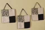Animal Safari Animal Print 3 Piece Wall Hangings By Sweet Jojo Designs
