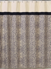 Animal Safari Animal Print Bathroom Shower Curtain Sweet Jojo Designs