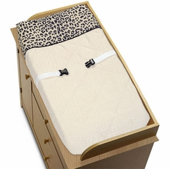 Animal Safari Animal Print Changing Pad Cover By Sweet Jojo Designs