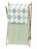 Argyle Green Hamper by Sweet Jojo Designs