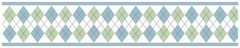 Argyle Green Wallpaper Border by Sweet Jojo Designs
