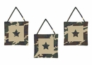 Army Green Camo 3 Piece Wall Hangings By Sweet Jojo Designs