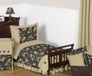 Army Green Camo Bedding - Toddler Bedding 5 Pc Set