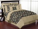 Army Green Camo Kids Bedding - 3 Piece Full/Queen Set