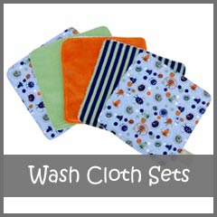 Baby Wash Cloth Sets