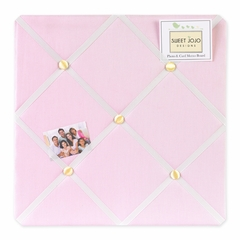 Ballerina Collection Pink Fabric Memo Board