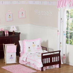Ballerina Toddler Bedding Set