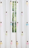 Ballerina Window Panel Curtains by Sweet Jojo Designs