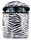 Black and White Zebra Print Zahara Baby Bottle Bag