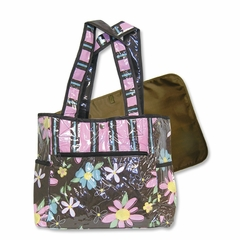 Blossoms Flower Tote Diaper Bag