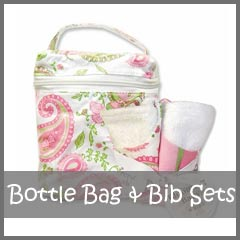 Bottle Bag & Bib Baby Gift Sets