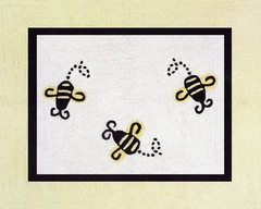 Bumble Bee Accent Floor Rug by Sweet Jojo Designs