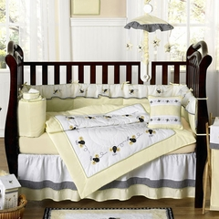 Bumble Bee Baby Bedding - 9 Piece Crib Set