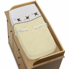 Bumble Bee Changing Pad Cover By Sweet Jojo Designs