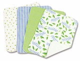Caterpillar Burp Cloth Set